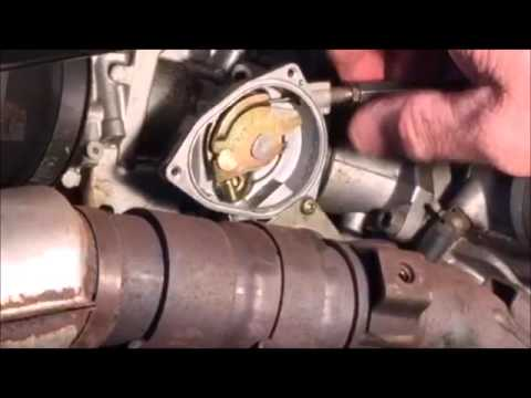 How to replace Throttle Cable on a Yamaha Grizzly 660 - YouTube