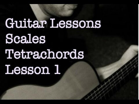 Lessons Scales_1 Tetrachords
