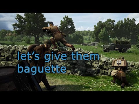French Forces (NEW UPDATE) | Plan Jaune | Post Scriptum Funny Moments and Gameplay