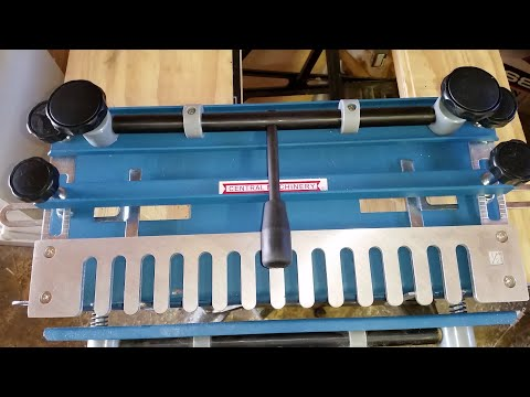 How To Setup A Harbor Freight Dovetail Jig