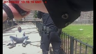 NYPD body cam shows encounter with alleged gunman on Staten Island