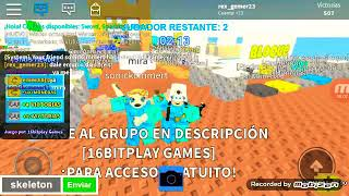 I play with my friend in roblox eskywars😈
