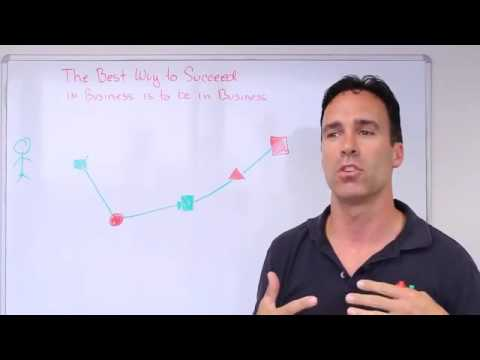 Entrepreneur Clip #2 - The Best way to Succeed in Business is to be in Business