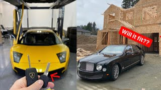 Damon REVEALS Lamborghinis LIFE SAVING 2nd KEY! .. Building Dave's DDE HQ.