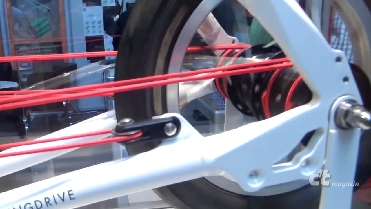 stringbike fahrrad ohne kette youtube