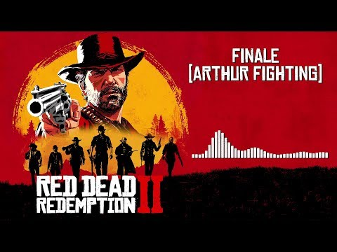 Red Dead Redemption 2  Soundtrack - Finale Arthur Fighting   With Visualizer