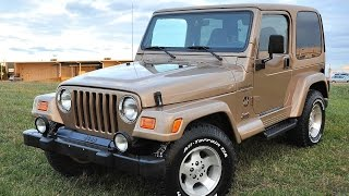 Davis AutoSports 2000 Jeep Wrangler Sahara For Sale