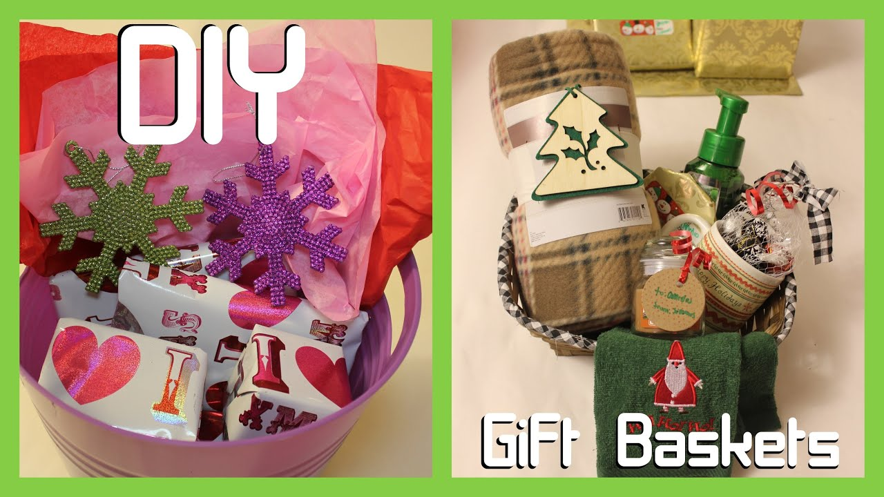diy gift baskets teens parents easy youtube - Diy Christmas Gifts For Parents