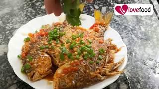 Thai crispy fish with tamarind sauce   Love Food