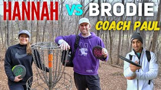 Brodie Smith vs. Hannah McBeth (9 hole match)