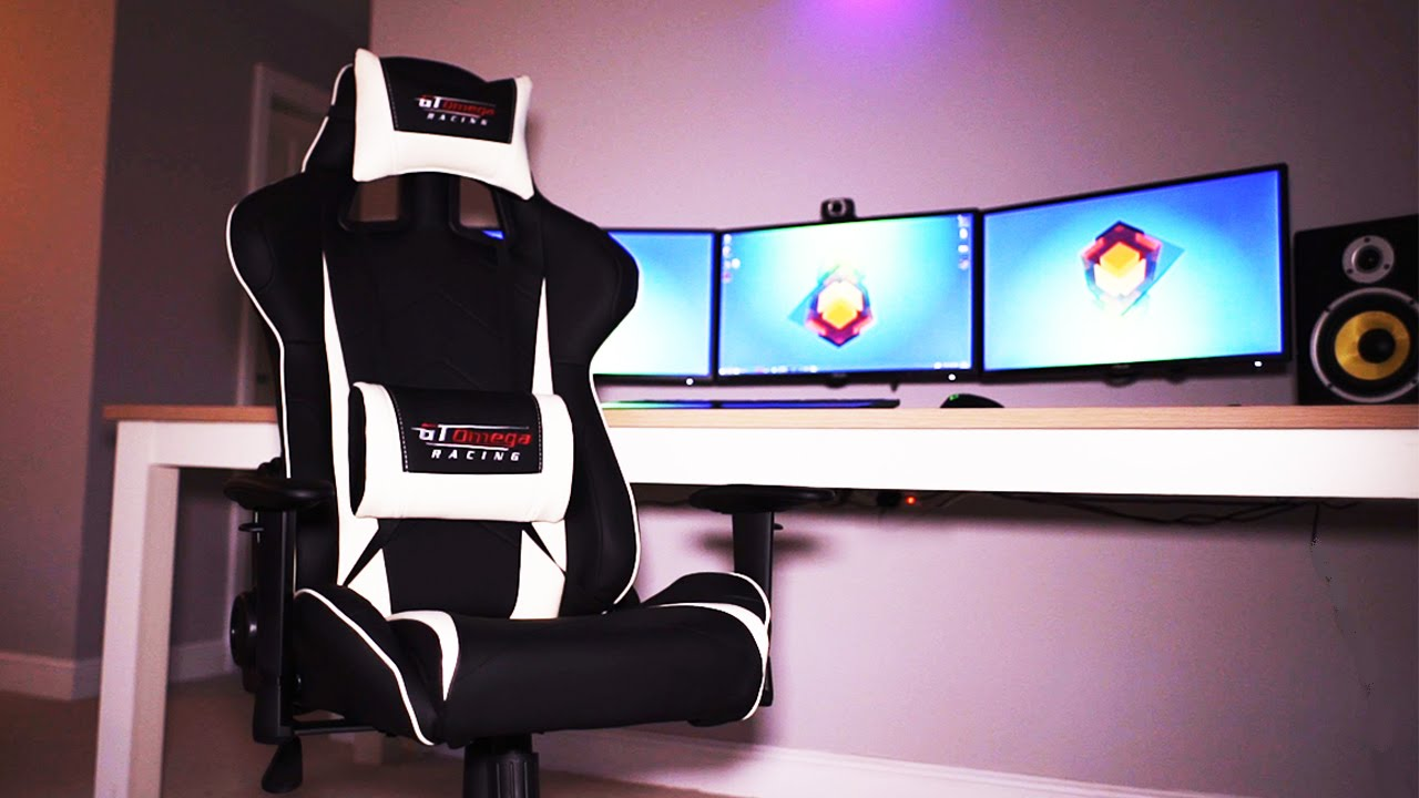 The BEST Gaming Chair  GT Omega Pro Office Chair Review