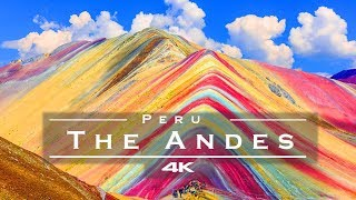 The Andes, Peru 🇵🇪 - by drone [4K]