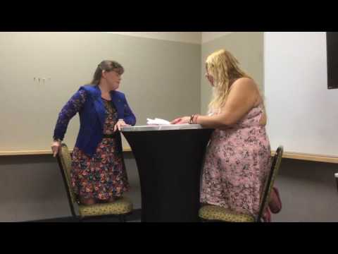 Awesome fun  with Jamie Brewer