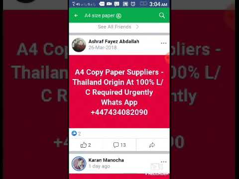 A4 Paper Buyers in dubai