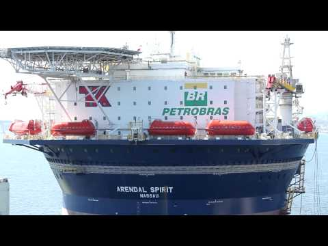Arendal Spirit arrives to Brazil