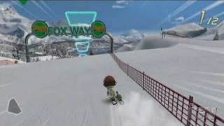 We Ski Nintendo Wii Gameplay - Fox Way Race