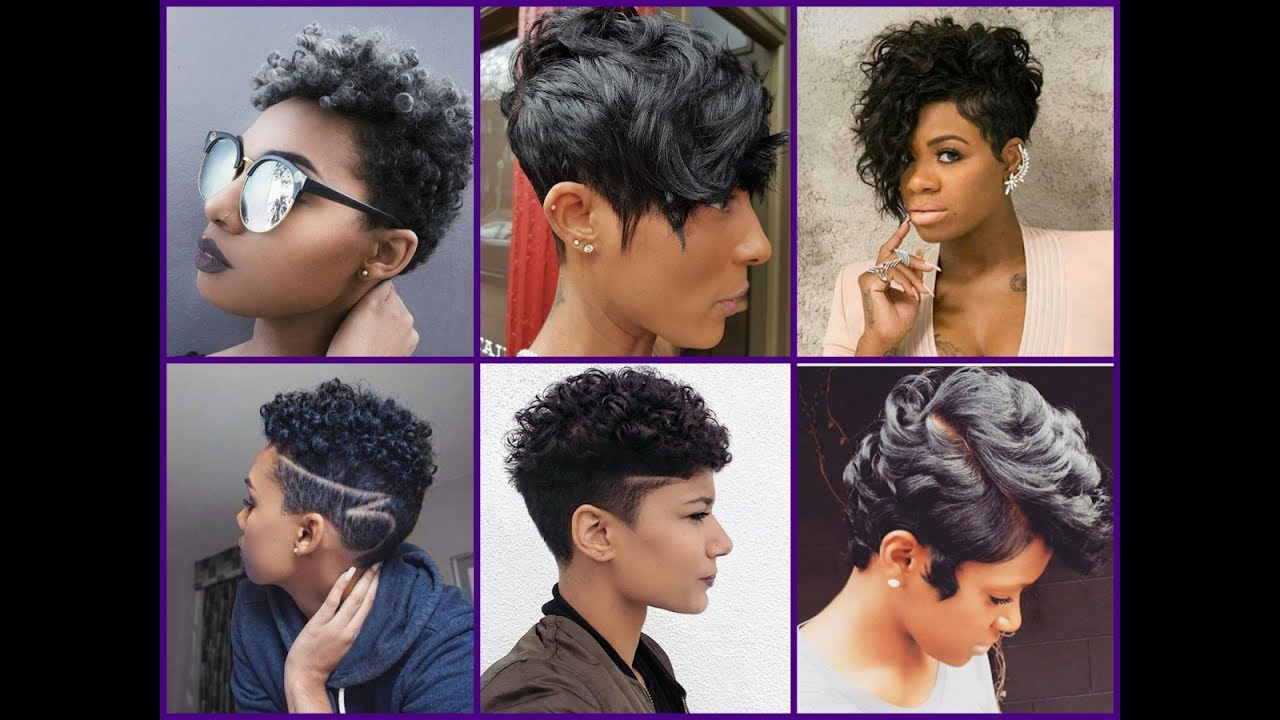 Short hairstyles trendy short hairstyles for women - 25 New Short Haircuts For Black Women 2017 Trendy Haircuts For African American Women