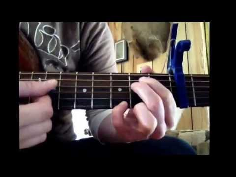 Troubadour - George Strait, how to play intro