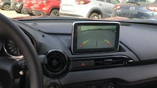 Mazda MX-5 miata ND RF Backup camera Installation video years 2016-2018