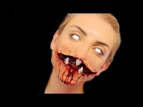Flesh Eating Monster - SFX Makeup Tutorial