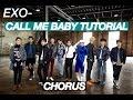 EXO CALL ME BABY STEP BY STEP DANCE TUTORIAL CHORUS