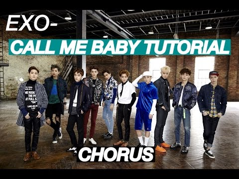 EXO CALL ME BABY STEP BY STEP DANCE TUTORIAL CHORUS