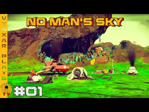 No Man's Sky - Soft beginning on a beautiful and wealthy planet - #01