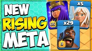 TH 12 Queen Charge Hogs Attack Strategy is CRUSHING BASES in Clash of Clans