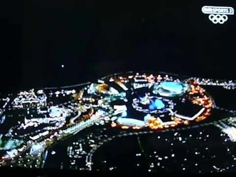 Sochi2014 Olympics Closing Ceremony Fireworks Display.