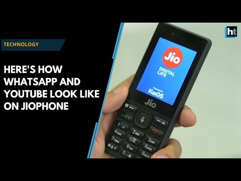 Here's how WhatsApp and YouTube work on JioPhone