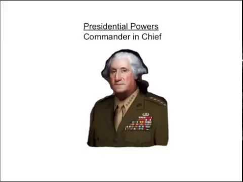 Powers of the President: Commander in Chief