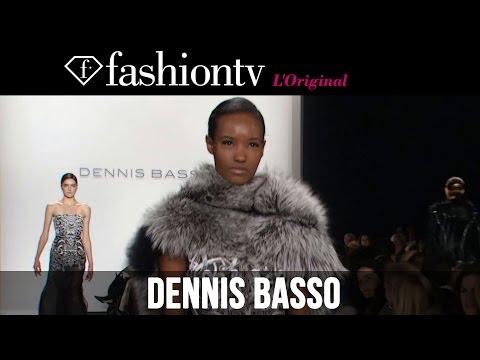 Anastasia Ivanova at Dennis Basso Fall/Winter 2014-15   New York Fashion Week NYFW   FashionTV