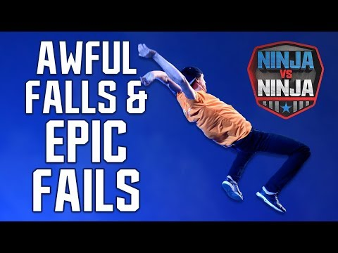 Best Runs: Awful Falls And Epic Fails | American Ninja Warrior: Ninja Vs. Ninja