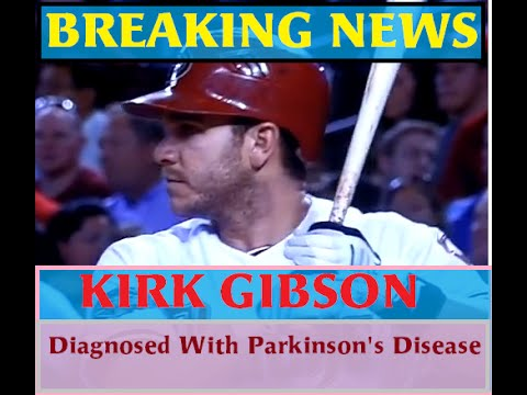Kirk Gibson diagnosed with Parkinson