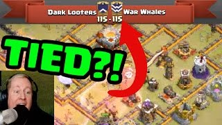 Over 210,000 saw this EPIC Clan War! Dark Looters vs. War Whales!