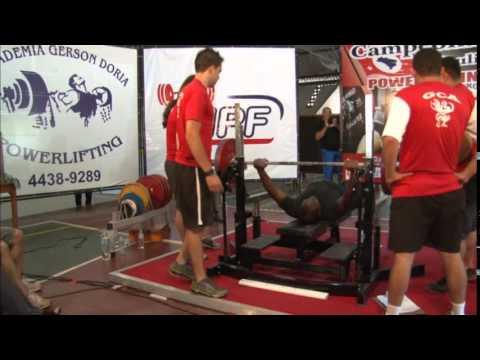 Campeonato Paulista de Powerlifting 2014 categoria 105kg - Supino