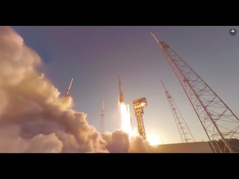 360 Degree Encapsulation & Launch of OSIRIS-REx