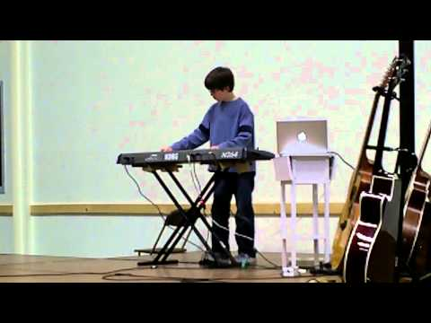 Showcase Performance - In To View - a rendition of his original composition