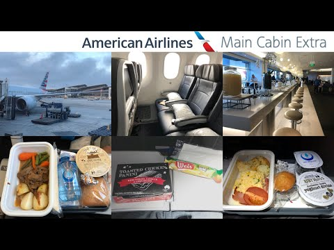 American Airlines MAIN CABIN EXTRA: Sydney To Los Angeles