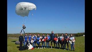 L'équipe de France militaire de parachutisme vers les Jeux mondiaux militaires d'été!