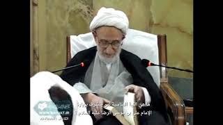 مترجم | أفضل الأعمال عند زيارة الإمام الرضا عليه السلام | آية الله العظمى الشيخ بهجت