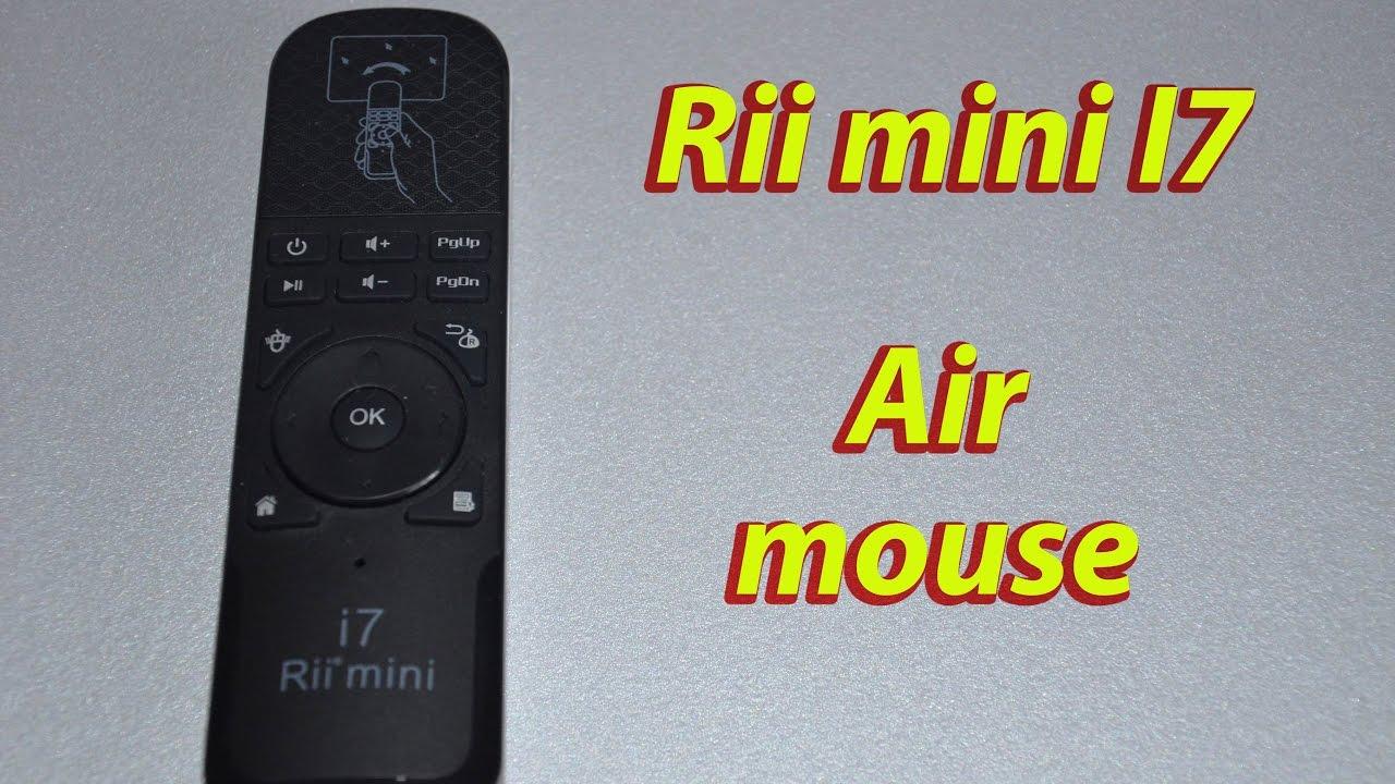Аэро мышь Rii mini I7(обзор и тест). - YouTube