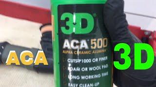 3D ACA 500 X-Tra Cut Compound! Alpha Ceramic Alumina Abrasives!! (More movement on the Podium!)