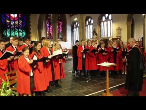 Plymouth College Carol Service at The Minster Church of St. Andrew 2016