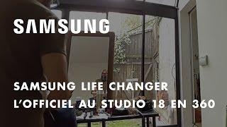 Samsung et L'Officiel présentent les coulisses des 95 ans de L'Officiel en 360° au Studio 18