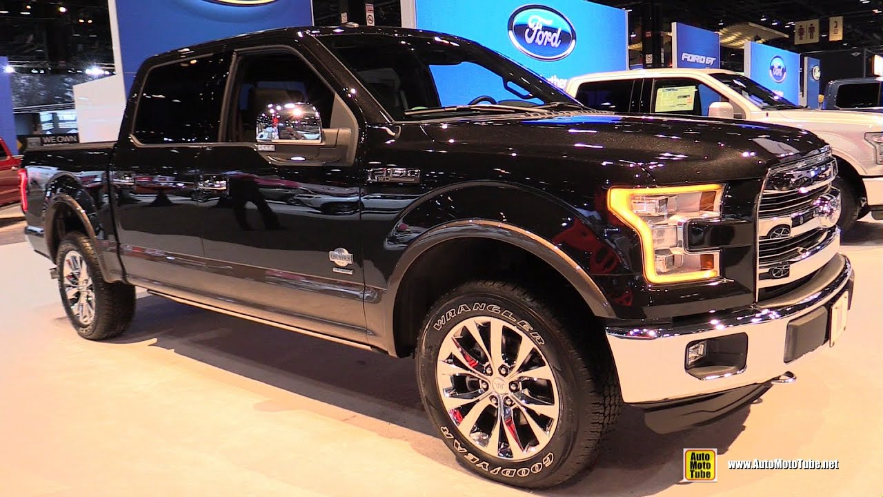 2015 ford f150 king ranch supercrew 3 5l v6 exterior interior walkaround 2015 chicago auto. Black Bedroom Furniture Sets. Home Design Ideas