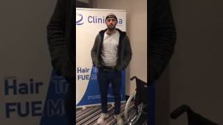 Hair transplant Testimonial at Clinicana from Australia