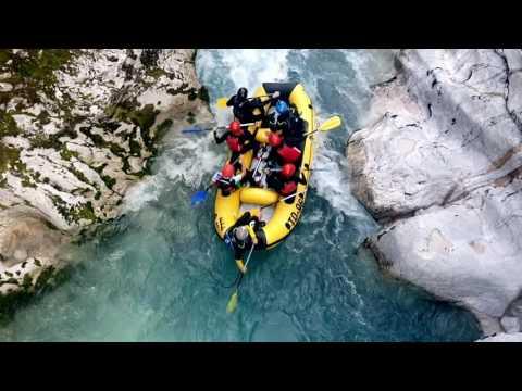 Rafting horna soča