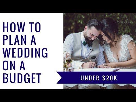 BUDGET FRIENDLY WEDDING PLANNING