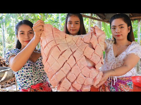 Cooking pork with noodle and fish sauce recipe - Natural Life TV